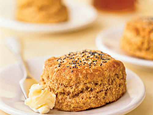 Seeded Cornmeal Biscuits