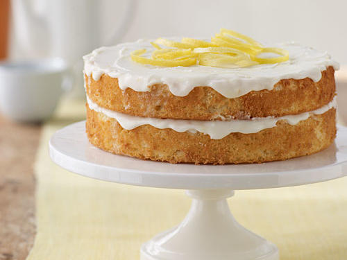 Nathan's Lemon Cake Birthday Recipe