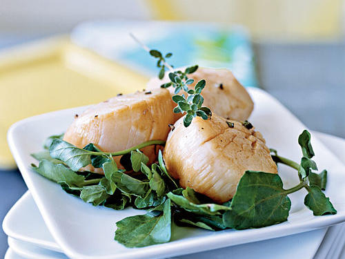 Healthy Marinade: Escabèche-Style Scallops