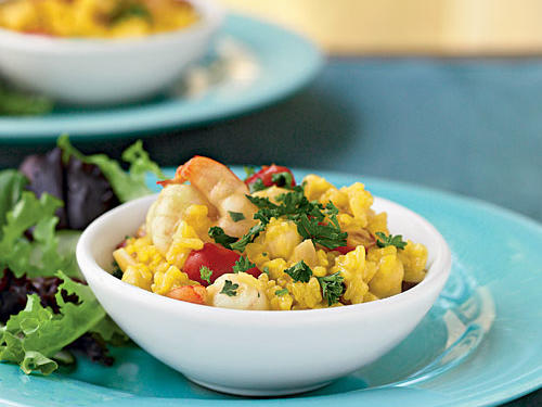 Healthy Seafood Risotto Recipe