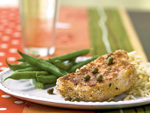 Pork with Lemon-Caper Sauce