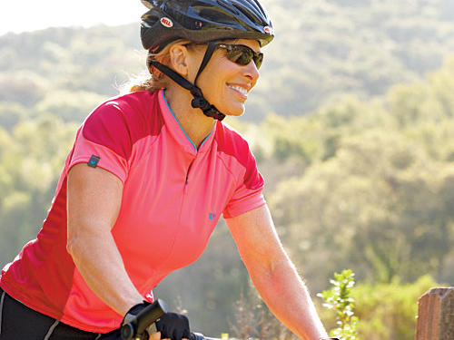 Bike two to three days per week, allowing at least one day of rest between each ride.