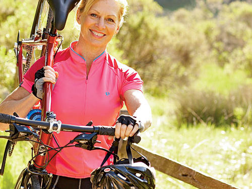 Keep your body in shape in the second month of your cycling routine.