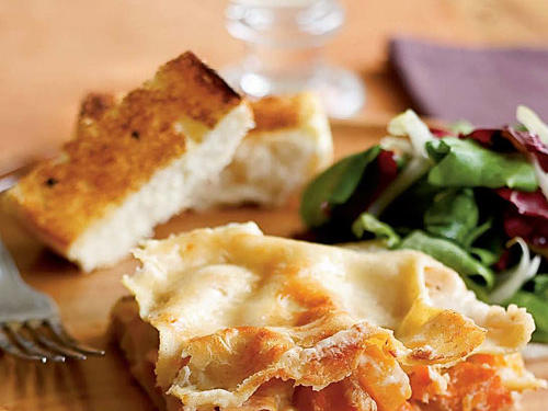 Parmesan and Root Vegetable Lasagna Recipes