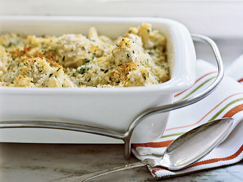 Gratin of Cauliflower with Gruyère Recipes