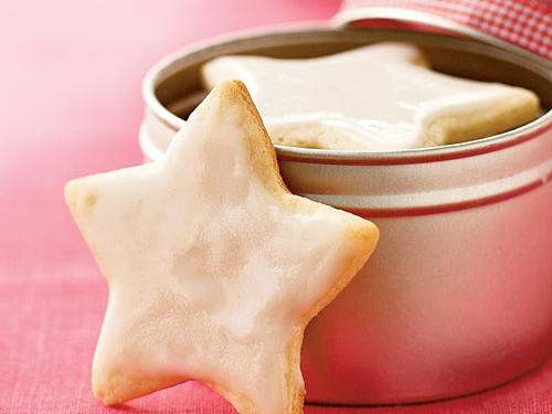 Don't substitute marzipan for the almond paste, because it's a bit to sweet for this buttery, lightly spiced cookie. Kids will love dressing these yummy stars with icing and you will love enjoying them as a simple dessert on a busy evening.