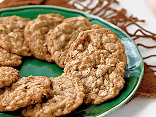 Few things compare to the aroma of delicious cookies baking away in the oven. No matter what the time of year, time of day, or variety of weather headed your way, there is no better time to bake up a batch. Here you will find 100 reasons to start preheating the oven and prepping your cookie sheets, starting with our indulgent Oatmeal Toffee Cookies.