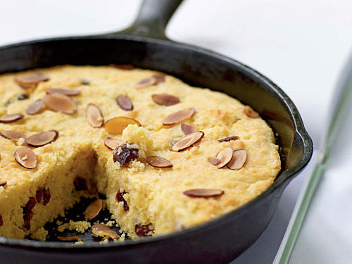 Almond-Cranberry Corn Bread