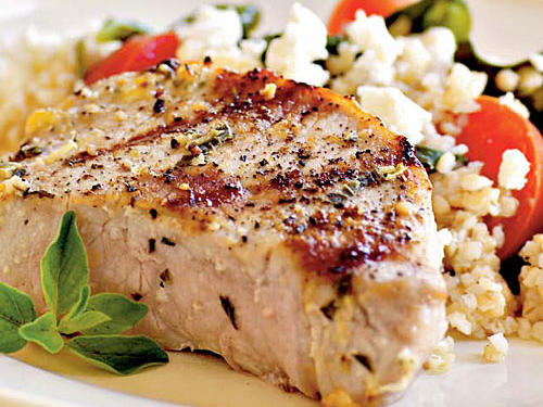 Pork Chops Oreganata Recipe