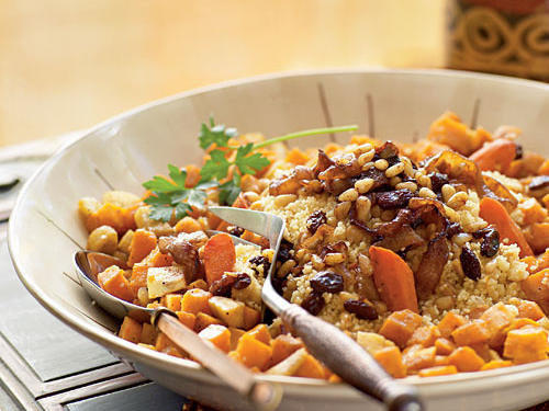 Meatless Moroccan