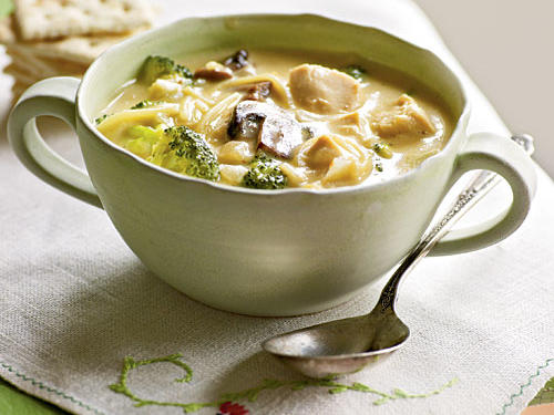 Better Broccoli and Chicken Noodle Soup