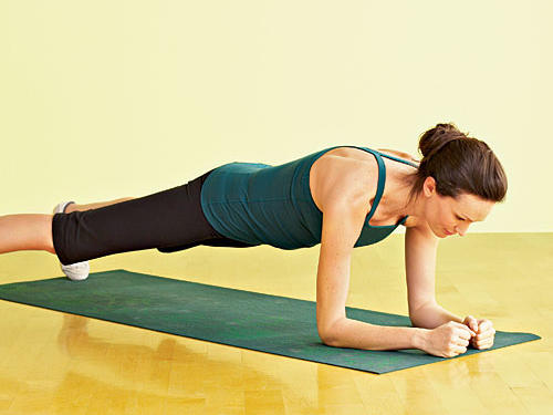 Plank with Side Leg Touch