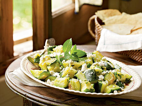 Top-Rated Vegetable Recipe: Zucchini with Peppermint