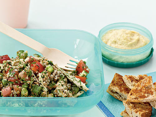 Tabbouleh with Chicken and Red Pepper Recipes