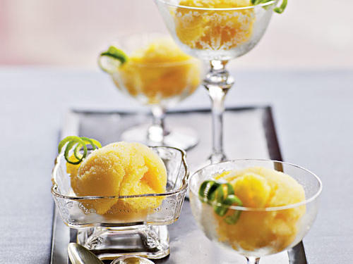 Mango-Agave Sorbet Recipes