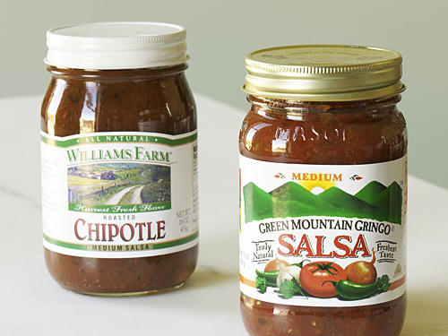 One of the most popular condiments, this versatile blend isn't relegated only to south-of-the-border dishes. Use it to spice up pasta dishes, or as the sauce for baked fish such as snapper or grouper or grilled meats including beef, chicken, and pork.Use your favorite bottled salsa in one of these more than 200 main-dish recipes.