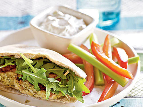 Healthy Mediterranean Turkey Burgers Recipe