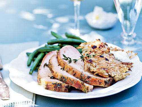 Ginger and Thyme-Brined Pork Loin