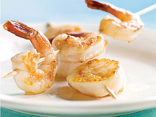 Take Two: Shrimp and Scallops
