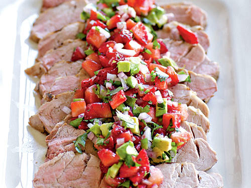 Serve this sweet and savory salsa with roast chicken, sautéed fish, or grilled pork tenderloin. You can also enjoy it as a snack with baked tortilla chips.