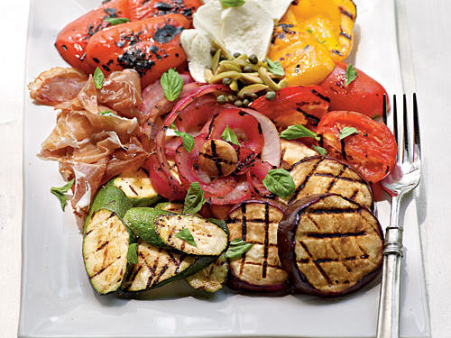 Fire-Seared Antipasto Platter Recipe