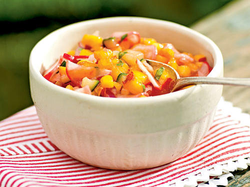Top-Rated Fruit Recipe: Nectarine and Radish Salsa
