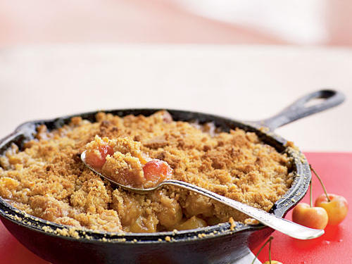 Rainier Cherry Crumble