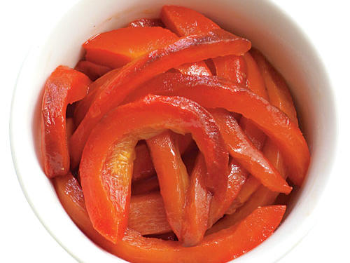 Health benefit: One-half red bell ­pepper supplies all the vitamin C and 80 percent of the vitamin A you need in a day.