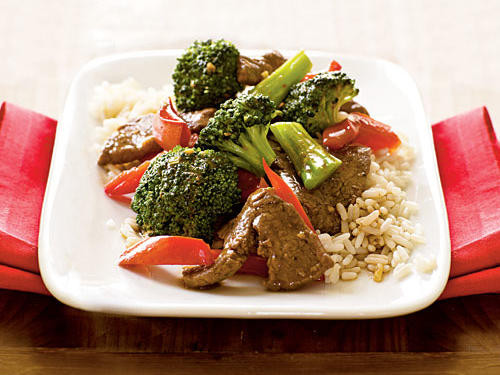Stir-Fried Beef with Broccoli Comfort Food Recipe