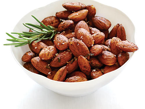 Portion size matters, especially with some nutrient-rich, yet calorically dense snacks, such as almonds. Research has shown snackers will eat more if a larger portion is offered to them, so don't plop down on the sofa with a bag of snacks and tell yourself you'll stop at just a few. Measure out a serving, and enjoy.