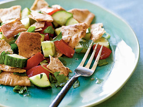 Pita Bread Salad Whole-Grain Recipe