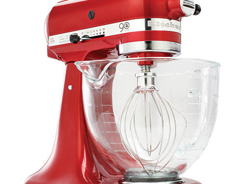 What we love: KitchenAid stand mixers have aged gracefully since the original 1919 model. The 90th anniversary edition gets a candy-apple paint job and has a 5-quart glass bowl, which makes it easy to see when butter and sugar are creamed to perfection.Price: $399Shop: KitchenAid