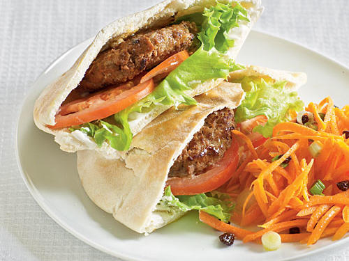 Healthy Dinner Recipe: Moroccan Pita Sandwiches