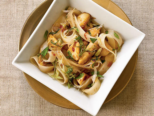 Rice Noodles with Chicken recipe