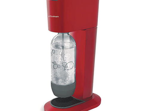 What we love: In the old days, a little CO2 capsule in a syphon shot bubbles into cocktails. Now there's a machine for that. SodaStream's home carbonation system put the fizz in water. Feeling silly, we couldn't help experimenting with whisky, red wine, and-kids would love it- milk! ($120; sodastream.com).Price: $120Shop: SodastreamUSA.com