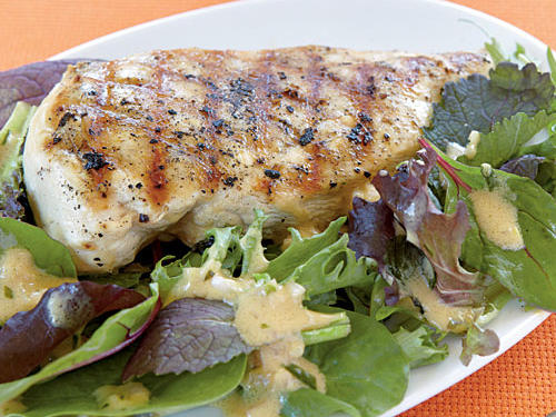 """Such a great weeknight meal!! Very easy, and the dressing is delicious! I followed the directions exactly. I just wish we had more salad because it went quickly."" —SAECCA