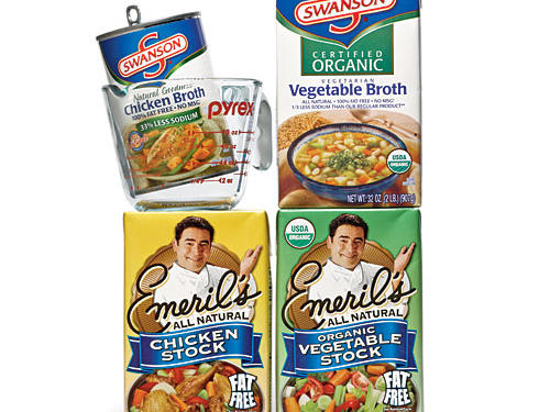 Taste Test: Low-Sodium Stocks and Broths