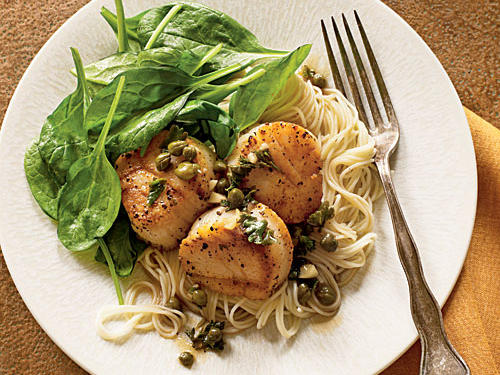 """Simple and easy and came out great and loved the sauteed spinach too!"" —TACOMA
