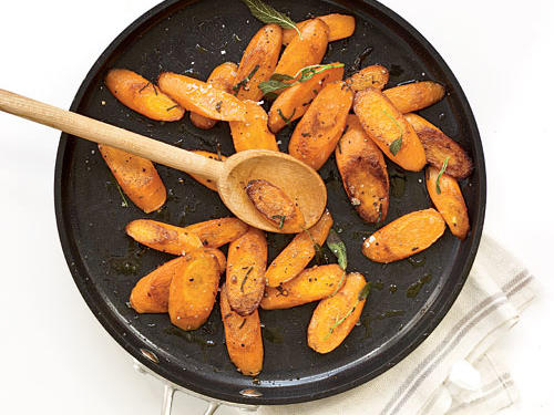 Sautéed Carrots with Sage Recipes