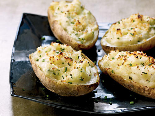 Fontina-Stuffed Potato Skins Recipes