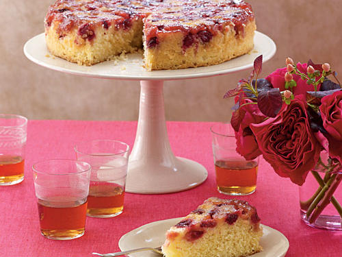 Cranberry Upside-Down Cake Recipes