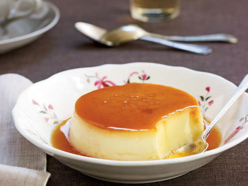 Cardamom-Coconut Crème Caramel Recipes