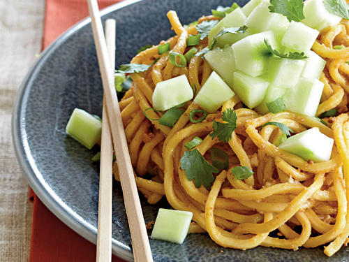 Frozen egg noodles are worth seeking as a budget-friendly yet tastier version of dried.