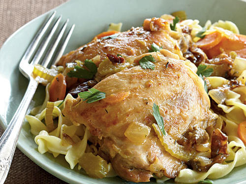 1204w Top-Rated Bistro Braised Chicken