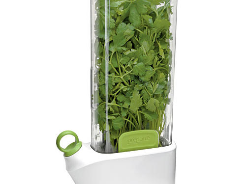 Kick the dried stuff to the curb and say au revoir wilted herbs. The Prepara Herb-Savor will keep even the most delicate greens fresh and flavorful for up to three weeks.Price: $30Shop: Prepara