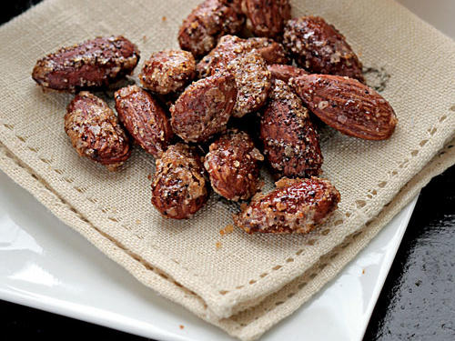 You are more likely to consume more chips, nuts, or pretzels if you eat straight from the bag. Be a smart snacker by portioning out your serving size and putting the bag away immediately before you indulge. Try making your own spiced snacks, like these yummy almonds.