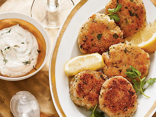 Greek Cod Cakes recipe
