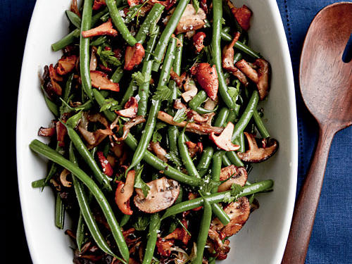 Sherried Green Beans and Mushrooms Recipes