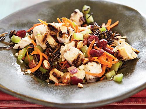 Chicken and Wild Rice Salad with Almonds