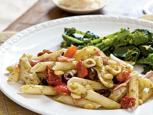 100 Pasta Recipes: Antipasto-Style Penne